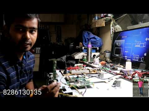 How To Repair Toshiba 32 Inch Dead Tv Power Lcd Tv Supply Ok Motherboard Fault