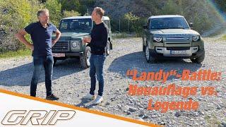 Land Rover Defender - Alt vs. Neu | GRIP