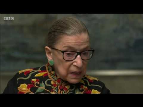 Ruth Bader Ginsburg 2nd woman on the US Supreme Court BBC interview