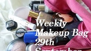 Weekly Makeup Bag | 29-Sept-14 | ThatGallowayGirl Thumbnail