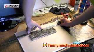 Гипсовая плитка. Изготовление формы для отлива из силикона(Как самостоятельно изготовить уникальную форму для изготовления гипсовой плитки представлено на этом..., 2014-07-13T05:00:01.000Z)