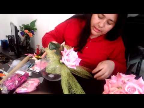Como hacer un centro de mesa para 15 a os youtube for Como aser un criadero de mojarras