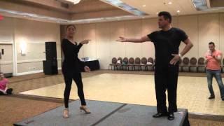 Salsa lift - Intermediate Lifts and Tricks (Abel Pena & Liz Lira)