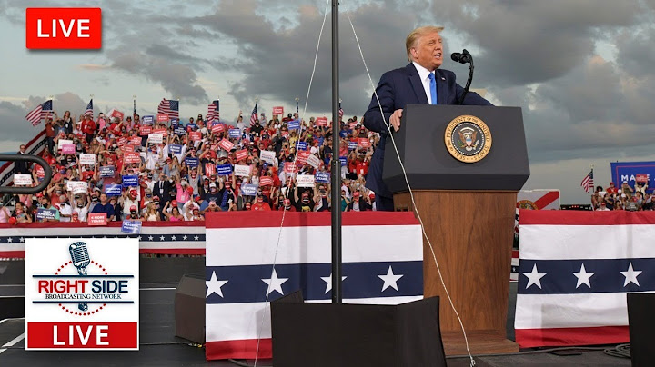 Permanent Link to 🔴 Watch LIVE: President Trump Holds Make America Great Again Rally in Hickory, NC 11-1-20