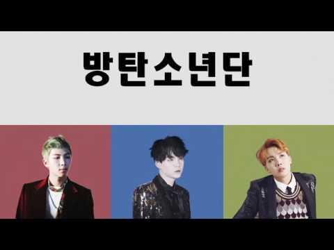 BTS[rap monster , suga , J-hope ] cypher pt.4