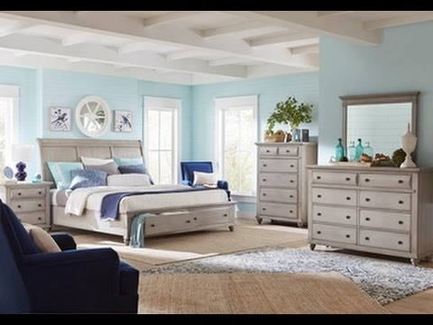 Kearsley Bedroom Set in Gray by Broyhill Furniture - YouTube