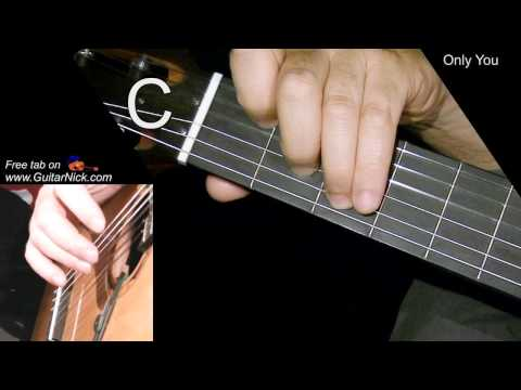 ONLY YOU: Easy Guitar Lesson + TAB + CHORDS by GuitarNick ...
