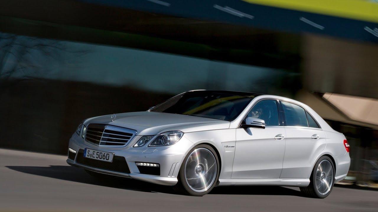 2012 Mercedes-Benz E63 AMG V8 Biturbo - YouTube