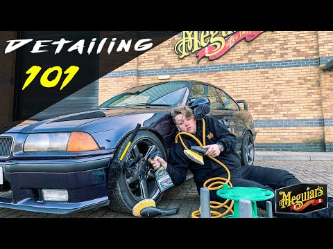 How to clean your WHEELS and TYRES - Detailing 101 Ep.1
