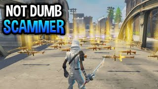 NOT Dumbest Scammer Gets Scammed For Inventory! In Fortnite Save The World Pve