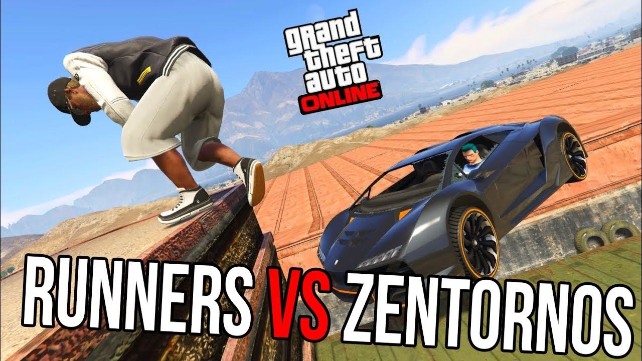 Runners vs Zentornos! (GTA 5 Online სასაცილო მომენტები)