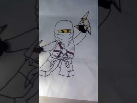 Омои рисунки Лего ниндзя го