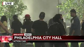 George Floyd Protests Turn Violent In Philadelphia