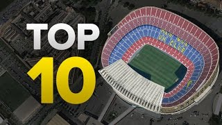 Top 10 biggest club stadiums in europe