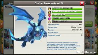 ELECTRO DRAGON +CLONE SPELL V/S TROLL BASE
