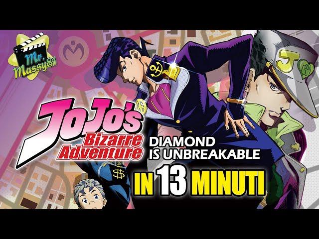 JOJO - Diamond is unbreakable in 13 minuti!