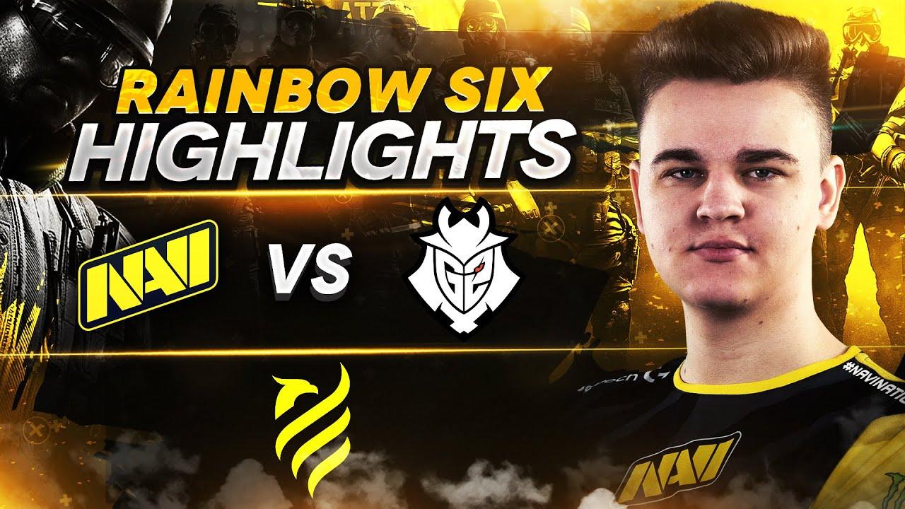 Rainbow Six Highlights: NAVI vs G2 @ European League Season 1