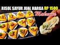 - 50 pcs Risol Sayur Tanpa Telur Jual Rp. 1500
