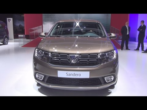 2017 dacia sandero laureate exterior and interior paris auto show 2016 by automobile classics. Black Bedroom Furniture Sets. Home Design Ideas