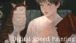 Speed Painting ( Photoshop cc )