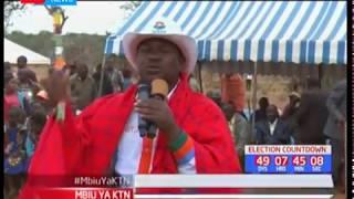 Baadhi ya viongozi wa Kajiado wadai Jubilee inadai kuiba kura