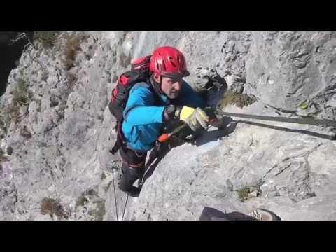 Klettersteig Austria : Via ferrata austria kaiser max klettersteig martinswand