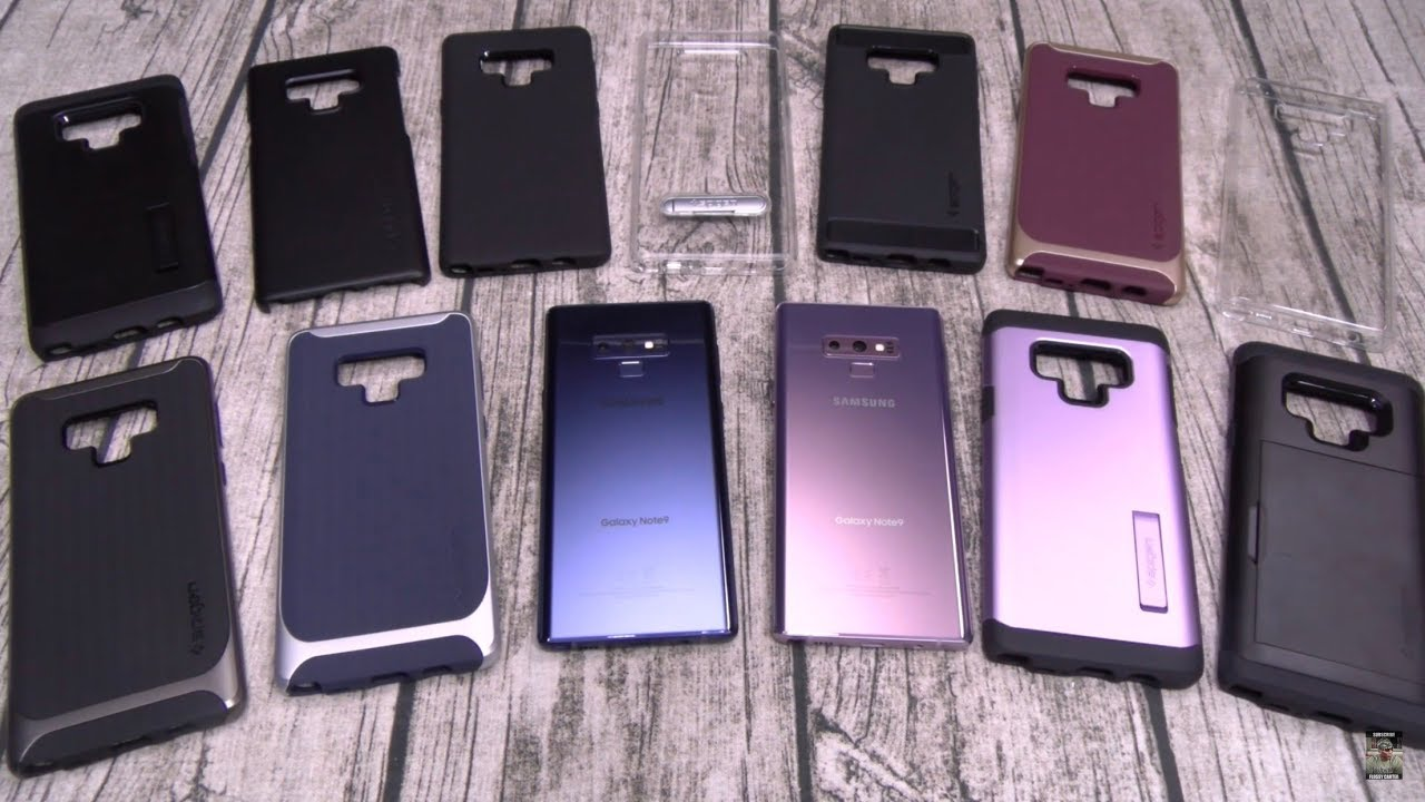 huge sale 750cc 62c74 Samsung Galaxy Note 9 - Spigen Case Lineup