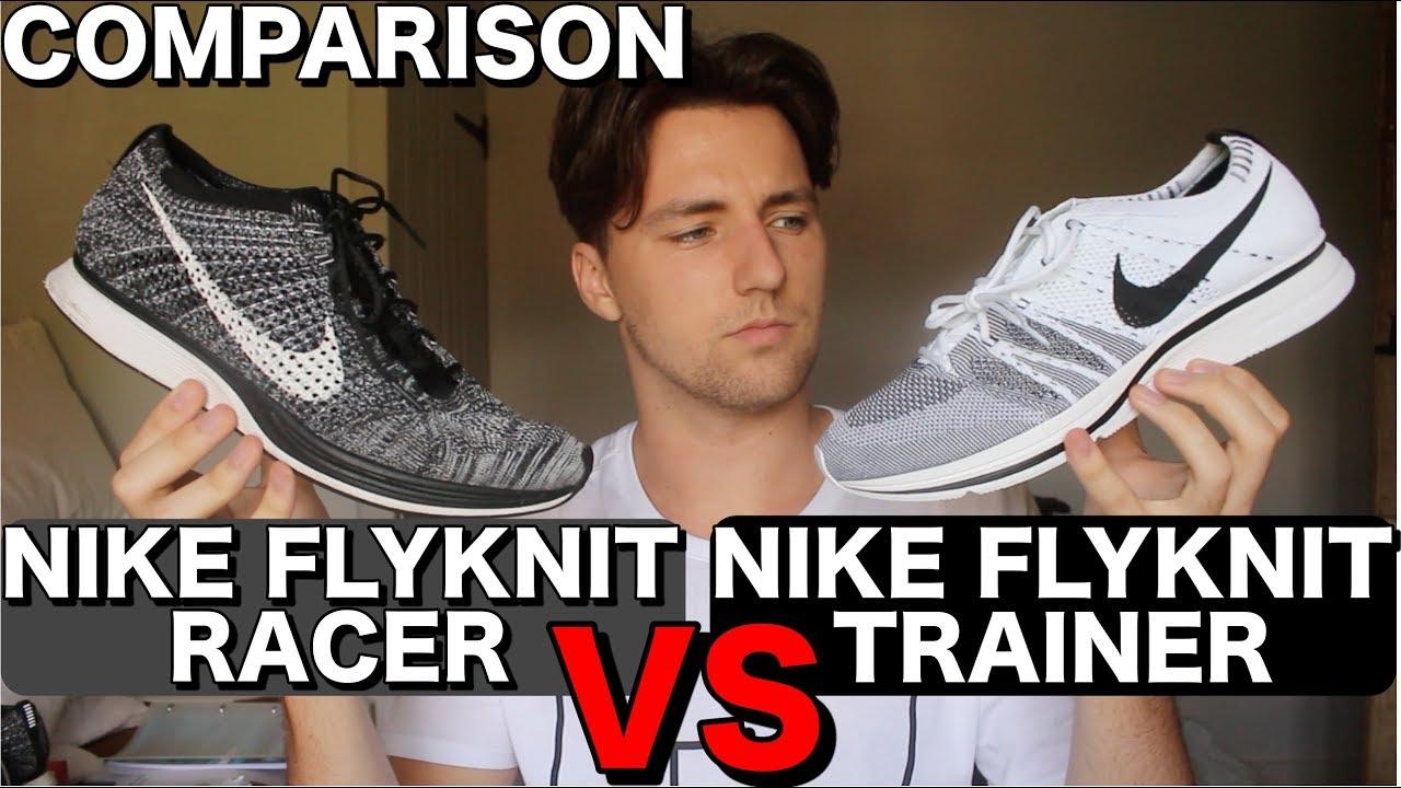 174b0b267 ... sale nike flyknit racer vs flyknit trainer comparison c3d2a 1ae6a