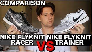 NIKE Flyknit Racer vs Flyknit Trainer | COMPARISON