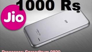 World's Cheapest 4G Reliance LYF Easy Rs.1000 smartphone