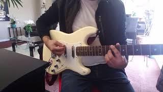 Mas Fuerte que Nunca // Coalo Zamorano // cover guitar con + gain en el amp // Canción Completa