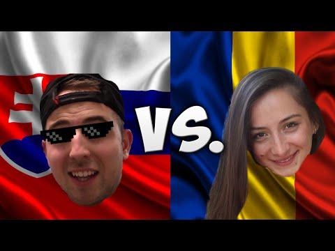 LANGUAGE CHALLENGE: SLOVAKIA VS. ROMANIA /W LOREDANA