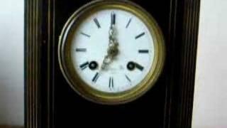 C.1860 Silk Suspension Mantle Clock