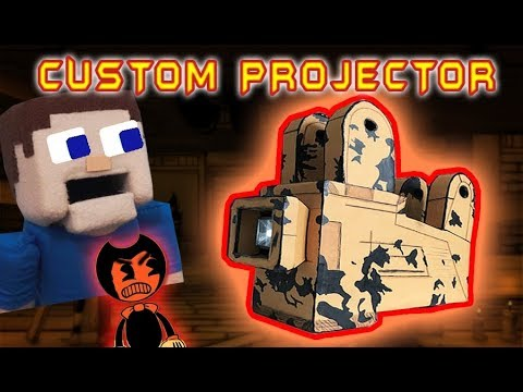 Bendy and the Ink Machine Custom PROJECTOR?! Diy Costume Chapter 4 BATIM toy plush