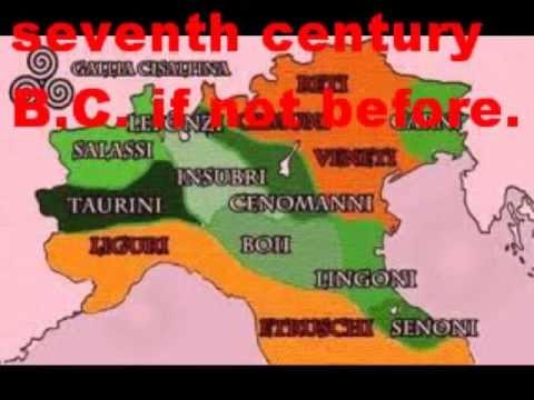 Gaul World Map.Cisalpine Gaul Northern Italy Youtube