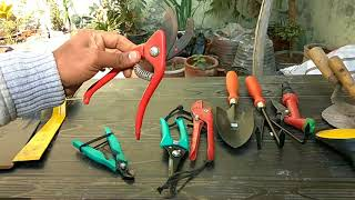 My Gardening tools and uses