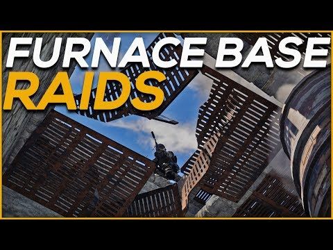 VANILLA RUST | FURNACE BASE RAIDS (#48) thumbnail
