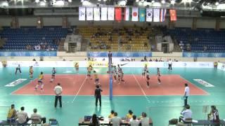 Кубок Азии по волейболу 2012, Казахстан-Южная Корея.