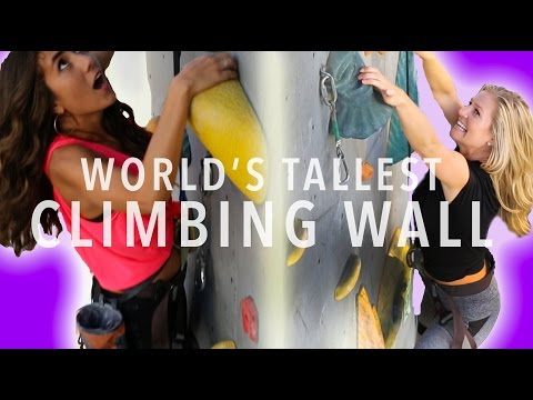 WORLD'S TALLEST CLIMBING WALL - Basecamp in Reno, NV