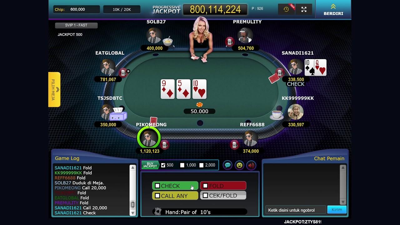Gampang Menang Cara Bermain Poker Online Di Qqwin303 Menang Terus Sob Youtube