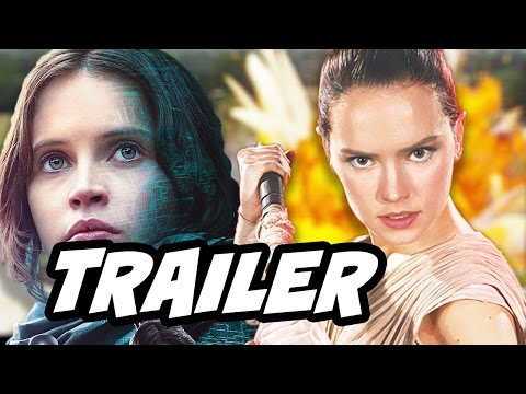 Star Wars Rogue One Trailer and Episode 8 Trailer Update