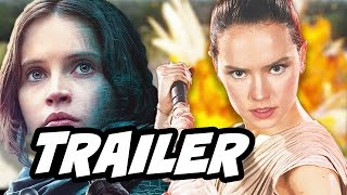 Star Wars Rogue One Trailer and Episode 8 Trailer Update(Star Wars Rogue One Trailer and Episode 8 Trailer Update. Darth Vader, Death Star Superlaser Test, Star Wars Episode 8 Trailer news and Jyn Erso Rey ..., 2016-11-12T02:41:18.000Z)