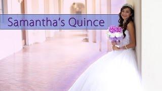 Samantha Banuelos Quinceanera Highlights