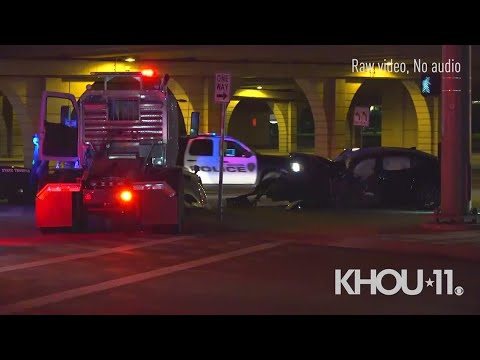 Download Raw: Fatal crash investigation on Highway 6 at Katy Freeway   Houston, Texas