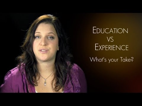 Education vs. Experience // DESIGN LIKE A PRO