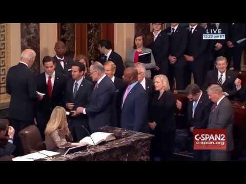 Senator Marco Rubio sworn in to second term on Senate floor