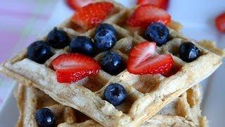 Vegan Waffles Recipe | Eggless Waffles Recipe