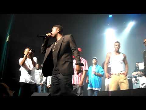 Kendrick Lamar - I am (interlude) Live The Music Box Los Angeles, CA 8/19/11