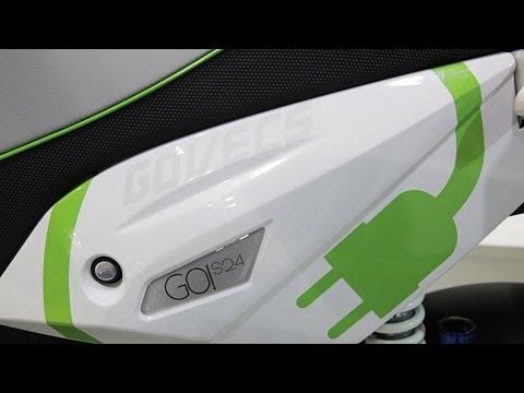 Govecs E-Roller News 2013 auf der Eicma 2012