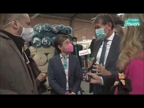 Alcaldesa Claudia López y ministro de Trabajo presentan el Programa Distrital #EmpleoJoven